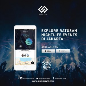 SINDHÈN App Discover Jakarta's nightlife with this one‐stop app