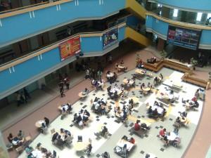 Tempat belajar 'PW' di Kampus Anggrek Binus University