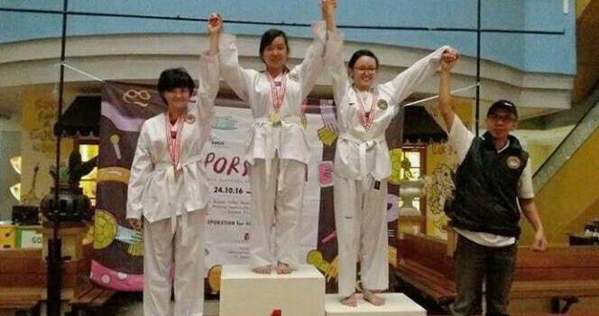 Yossi Agustin Bunardi, Si Jago Taekwondo!