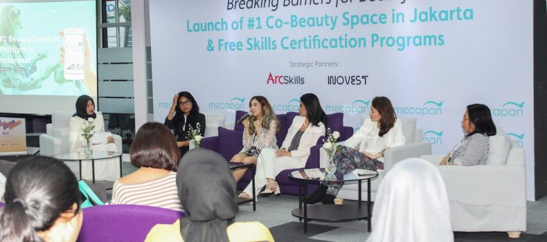 Breaking Barriers For Beauty: Launch of Mecapan's #1 Co-Beauty Space in jakarta & Free Skills Certification Programs