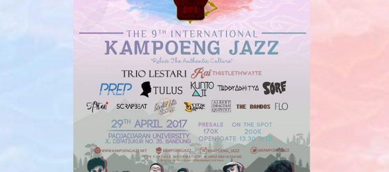 The 9th International Kampoeng Jazz