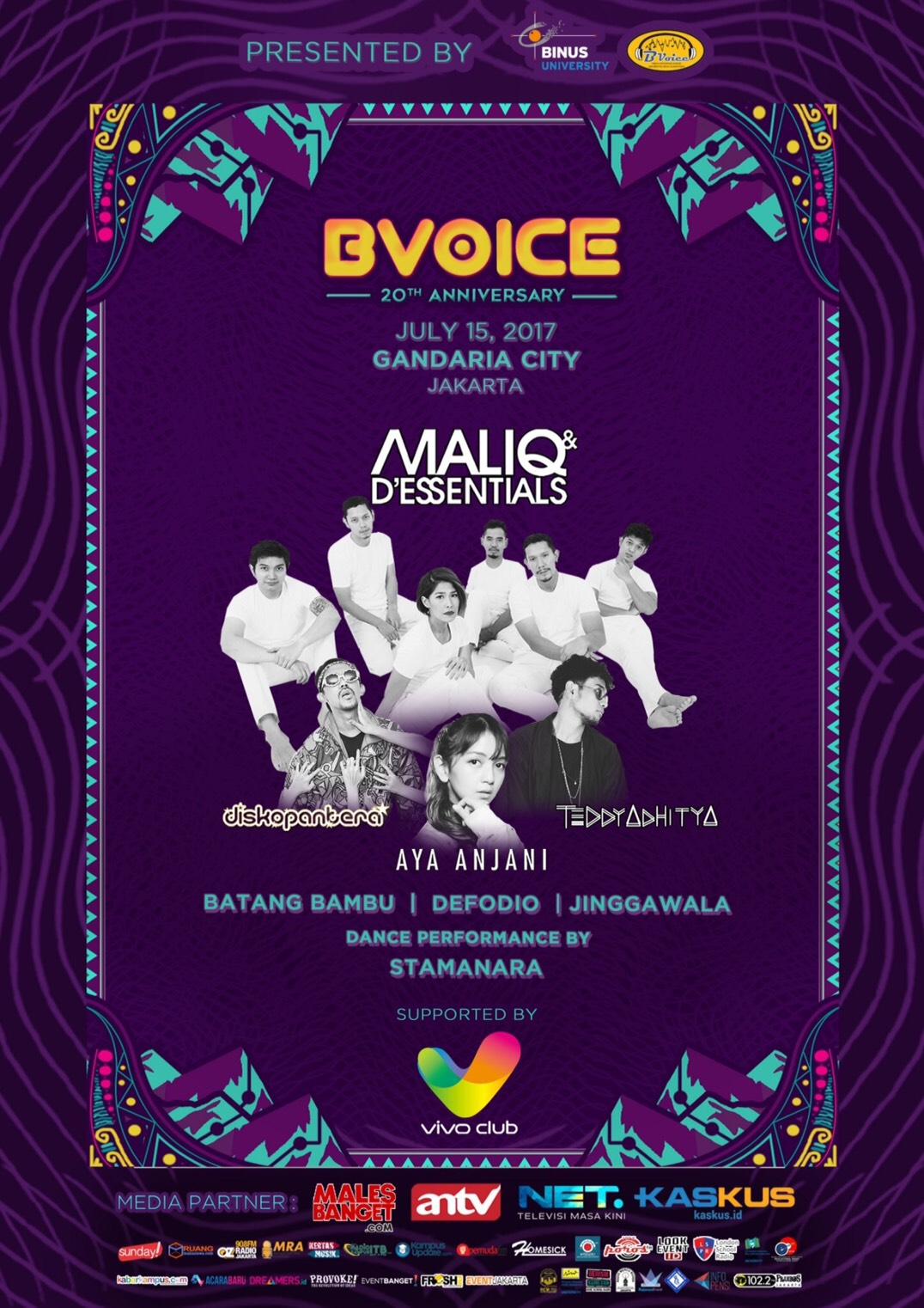 """BVoice Radio 20th Anniversary """"Infinity of Frequency"""""""