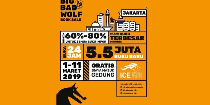 Big Bad Wolf Book Sale Hadir Lagi!